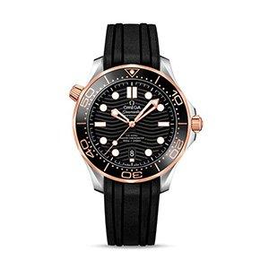 Omega Seamaster Diver 300 M acciaio e oro