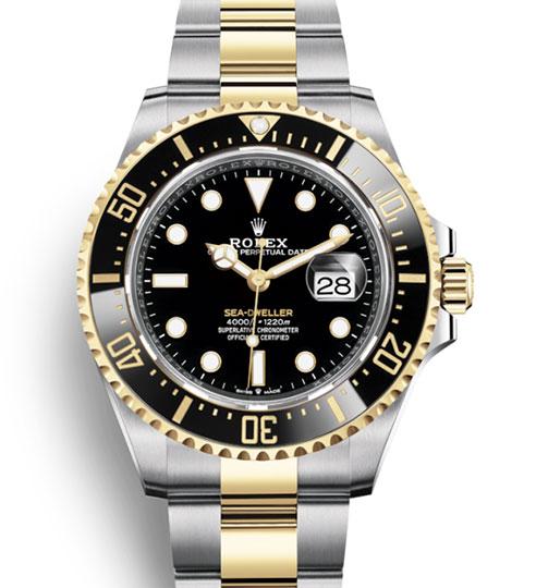 Rolex submariner sea dweller